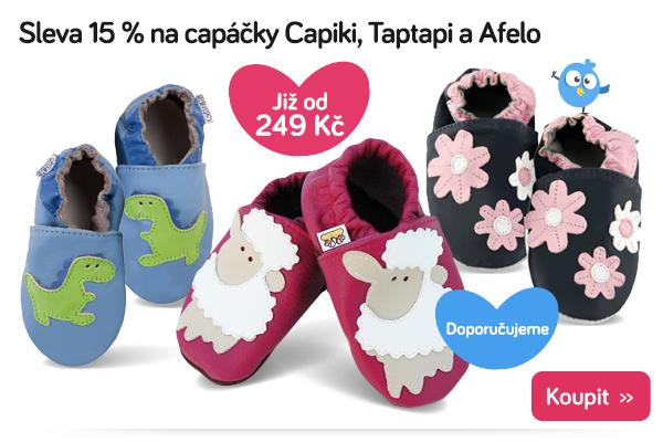 Capáčky Capiki, Taptapi a Afelo
