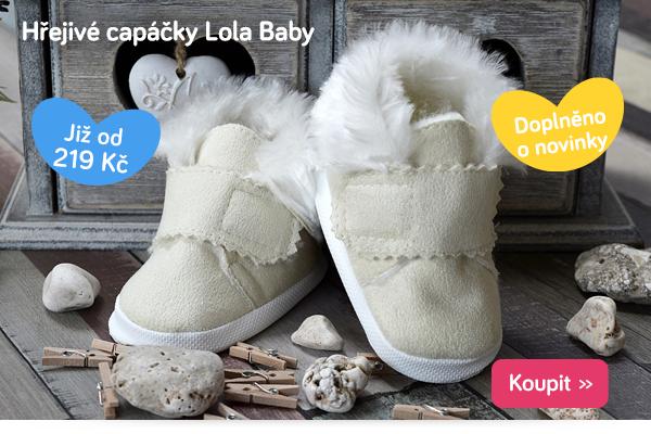 Dětské capáčky Lola Baby