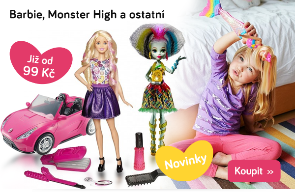 Panenky Barbie, Monster High