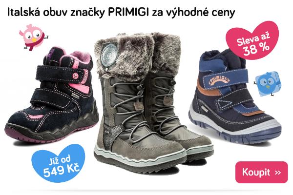 Dětské boty Primigi