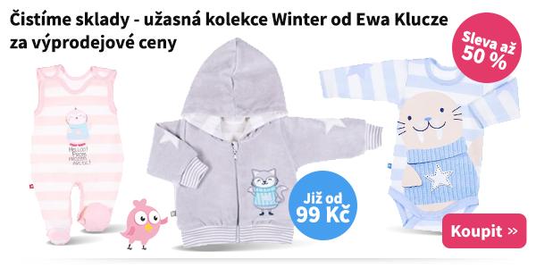 Dětské oblečení Winter Ewa Klucze