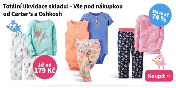Dětské oblečení Carter's a Oshkosh