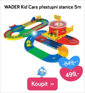 Wader Kid Cars přestupní stanice