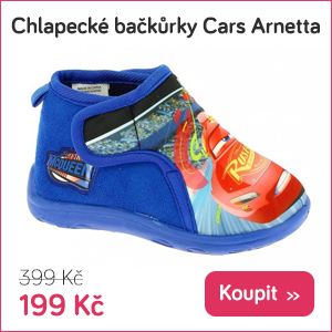 Dětské bačkory Cars Arnetta