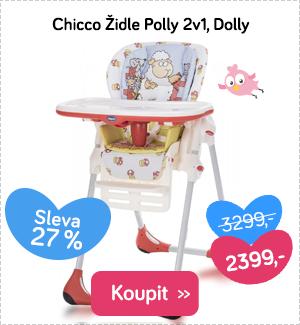 Chicco dětská židle Polly