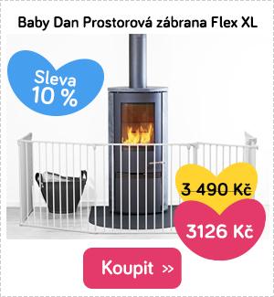 Dětská zábrana Baby Dan Flex XL