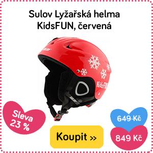 Dětská helma na lyže Sulov KidsFun