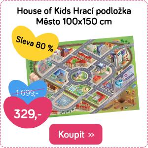 Hrací podložka House of Kids Město