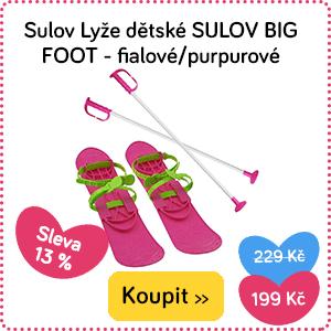 Dětské lyže Sulov Gib Foot