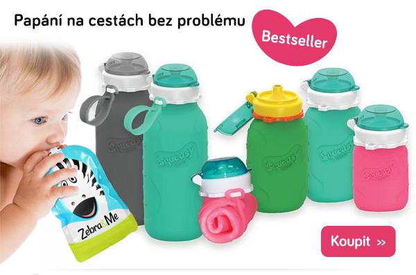 Dětské lahvičky a kapsičky