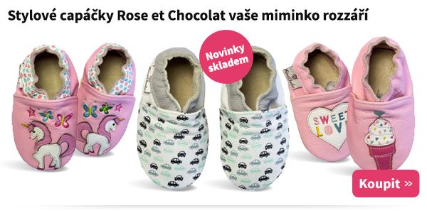 Dětské capáčky Rose et Chocolat