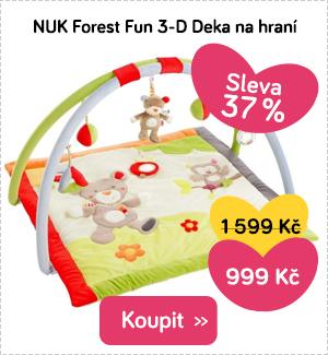 Deka na hraní NUK Forest Fun