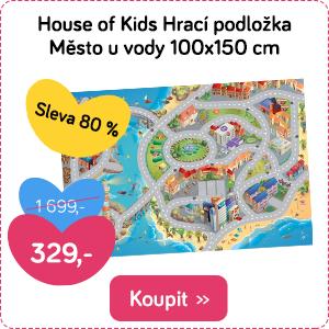 Hrací podložka House of Kids Město u vody