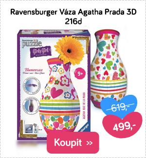 3D puzzle Ravensburger Váza Agatha Prada