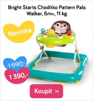 Chodítko Bright Starts Pattern Pals