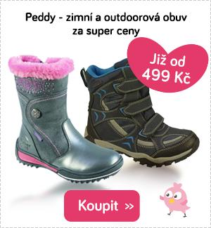 Dětské zimní boty Peddy