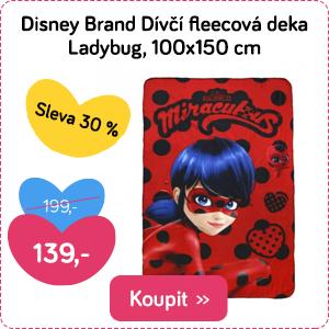 Fleecová deka Disney Beruška