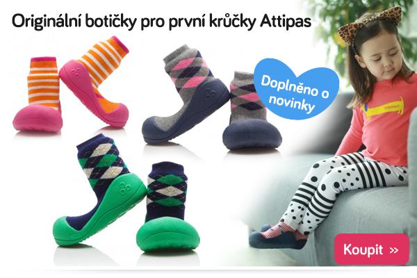 Dětské botičky Attipas