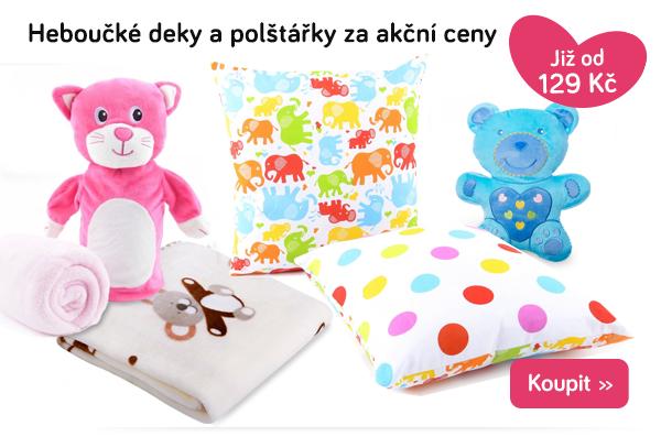 Dětské deky a polštářky