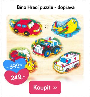 Bino hrací puzzle doprava