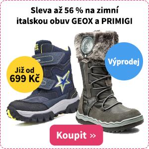 Dětské zimní boty Geox a Primigi