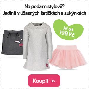 Dětské šaty a sukně