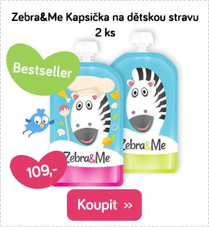 Zebra&Me kapsičky na dětské jídlo