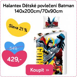 Dětské povlečení Halantex Batman