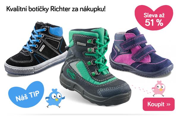 Dětské boty Richter