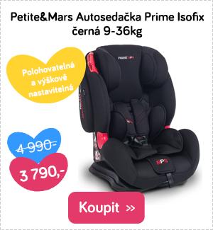 Autosedačka Petite&Mars Prime Isofix