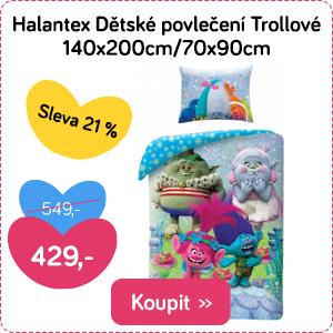 Dětské povlečení Halantex Trollové