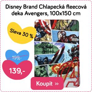 Dětská deka Disney Avengers