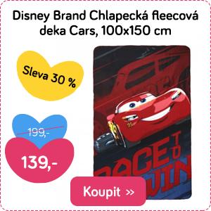 Dětská deka Disney Cars