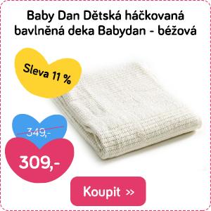 Dětská háčkovaná deka Baby Dan