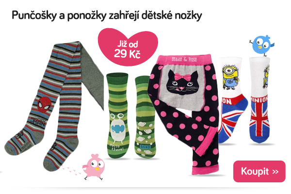 Dětské punčochy a ponožky