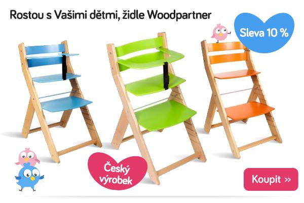 Rostoucí židle Woodpartner
