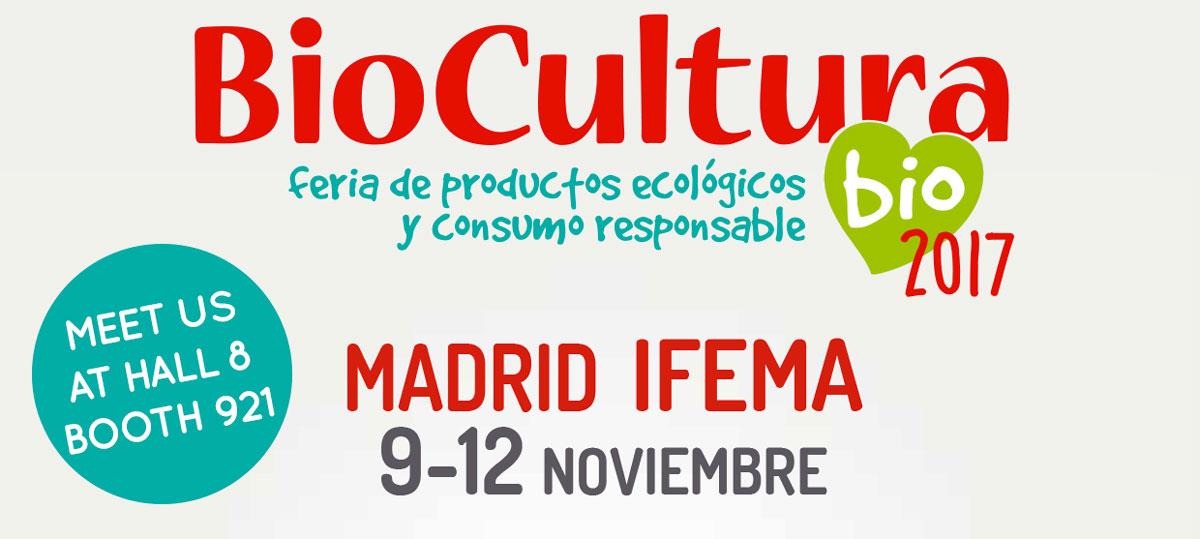 Officina naturae at BioCultura Madrid 2017