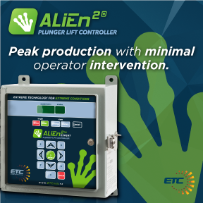 ETC ALiEn plunger lift controller